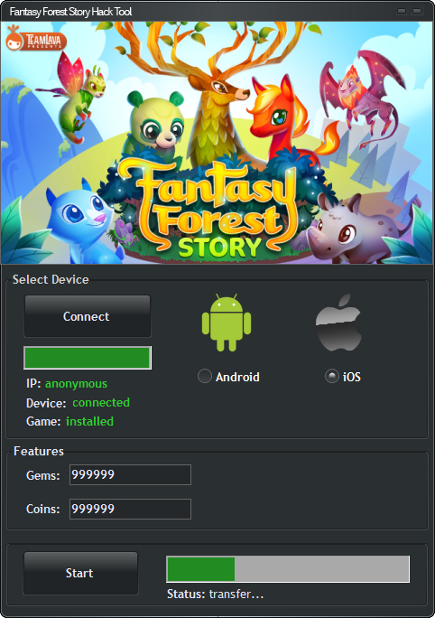 Fantasy Forest Story Hack Tool