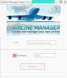AIRLINE MANAGER HACK TOOL