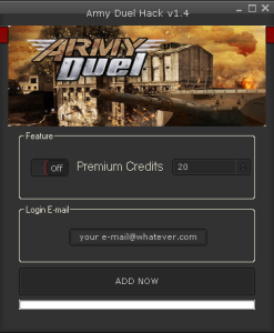 ARMY DUEL HACK TOOL