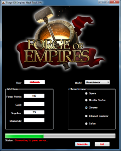 FORGE OF EMPIRES HACK TOOL