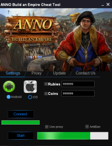 ANNO Build an Empire Hack Tool