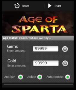 Age of Sparta android hack