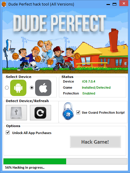 Dude Perfect Hack Tool