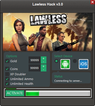 Lawless Hacks Unlimited coins