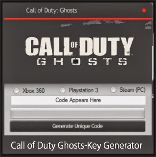Call Of Duty Ghosts CD Key
