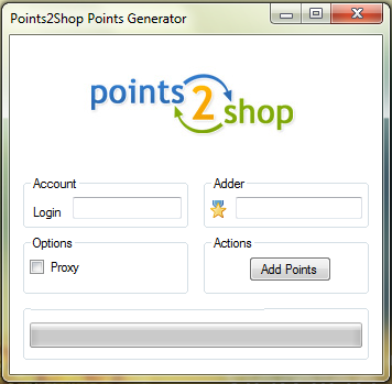 Points2Shop Points Generator