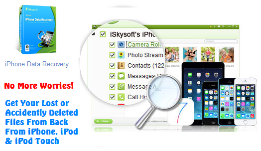 Recover deleted data from iPhone iPad iPod