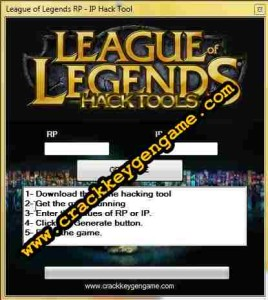 League of Legends (LoL) Hack Tool (Rp – Ip) Free Generator Point