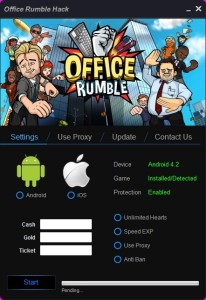 Office Rumble Hack Tool New version checker