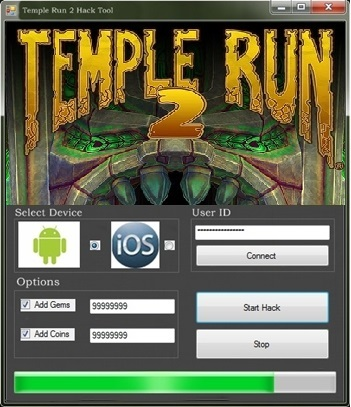 Temple Run 2 Hack for Android and iOS