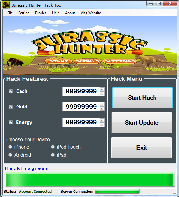 Jurassic Hunter Hack Tool