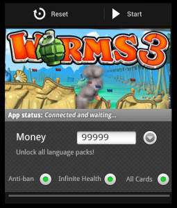 Worms 3 hacked