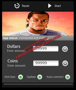 Goal One Didier Drogba android hack
