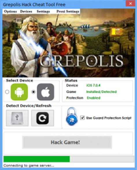 Grepolis Hack for Gold, Silver, Rock