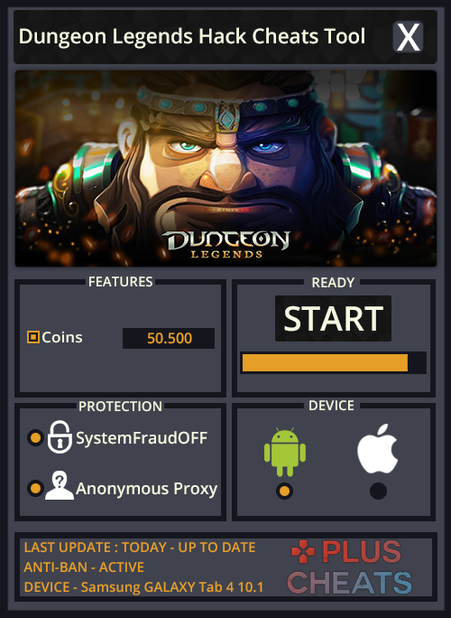 Dungeon Legends hack
