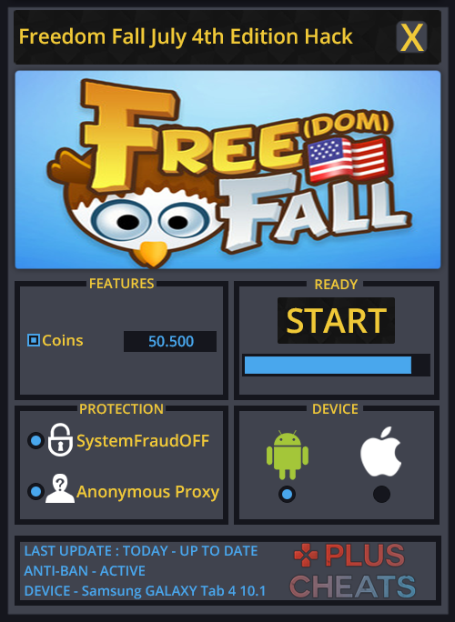 Freedom Fall July 4th Edition hack
