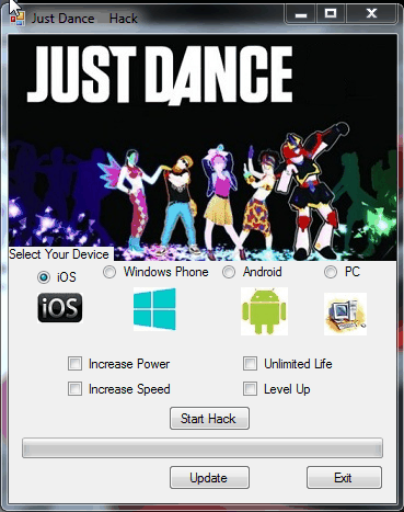 Just Dance Now Hack Tool