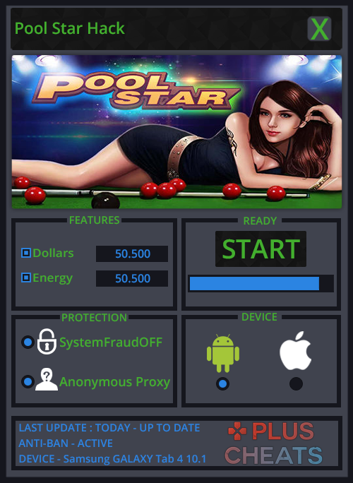 Pool Star hack