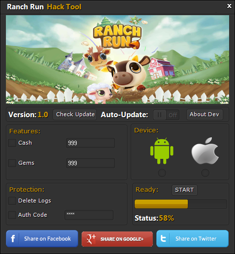 Ranch Run Hack Tool