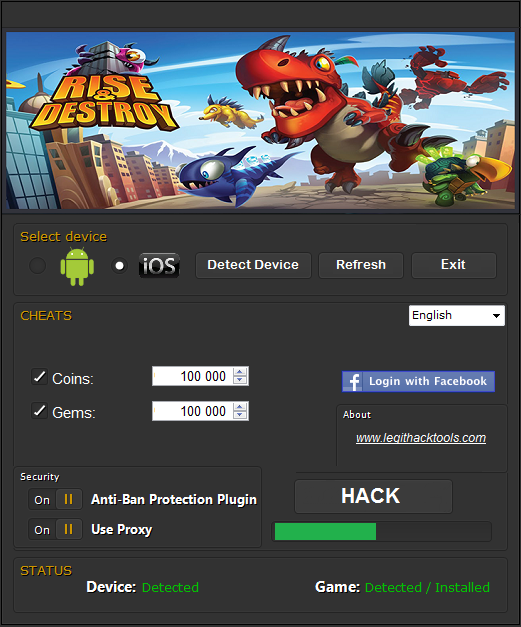 Rise And Destroy Hack Tool