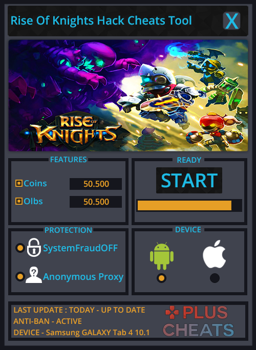 Rise Of Knights hack