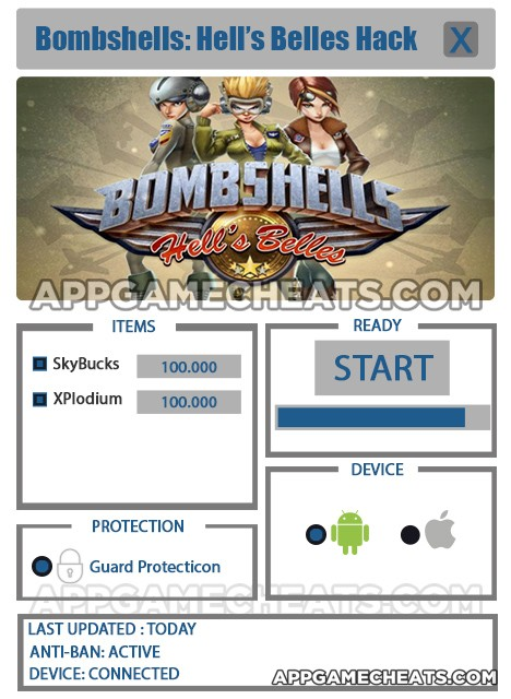 bombshells-hells-belles-cheats-hack-skybucks-xplodium
