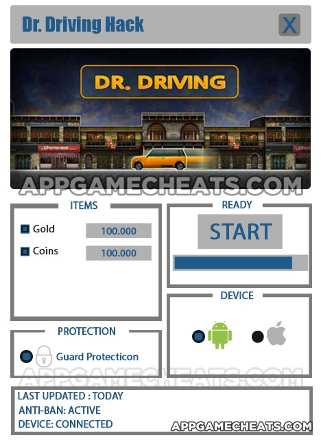 Dr. Driving Hack for Gold & Coins