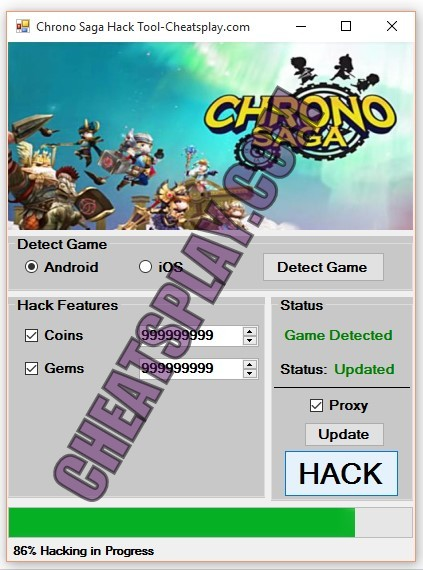 Chrono Saga Hack Tool