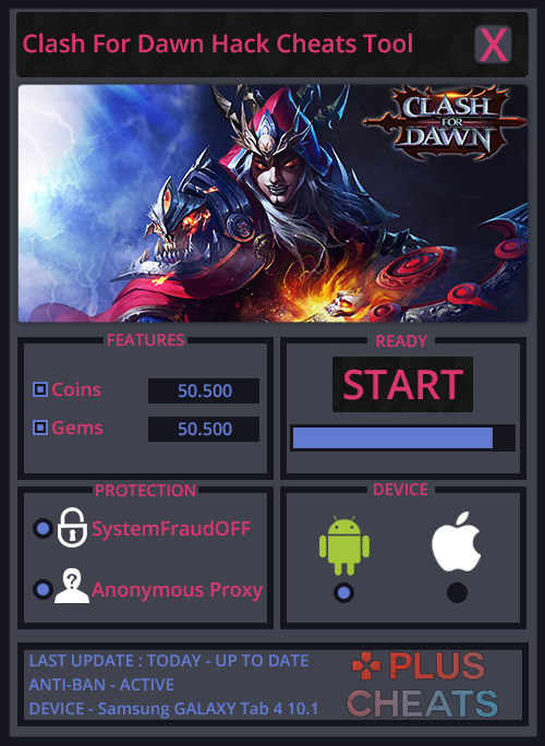 Clash For Dawn hack