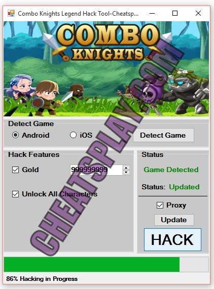Combo Knights Legend Hack Tool