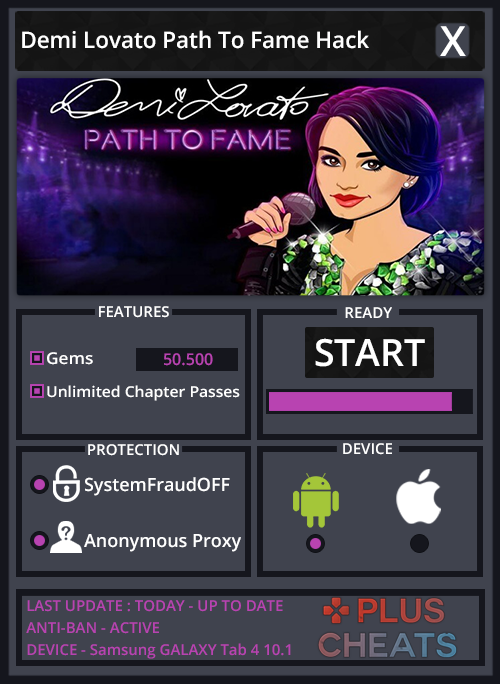 Demi Lovato Path To Fame hack