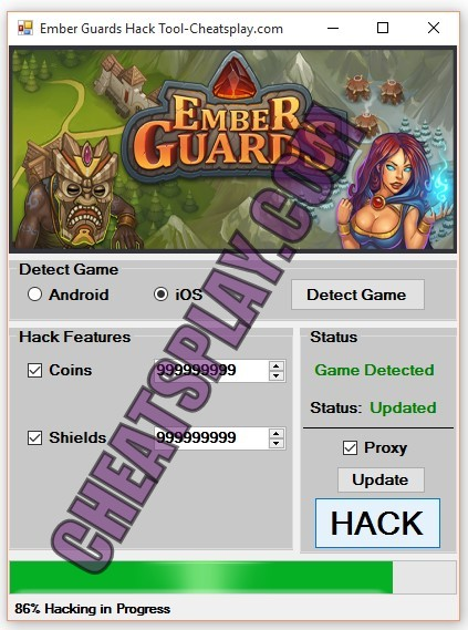 Ember Guards Hack Tool