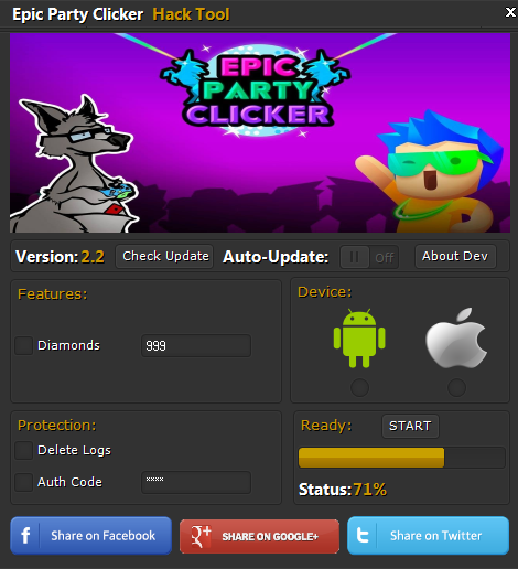 Epic Party Clicker Hack Tool