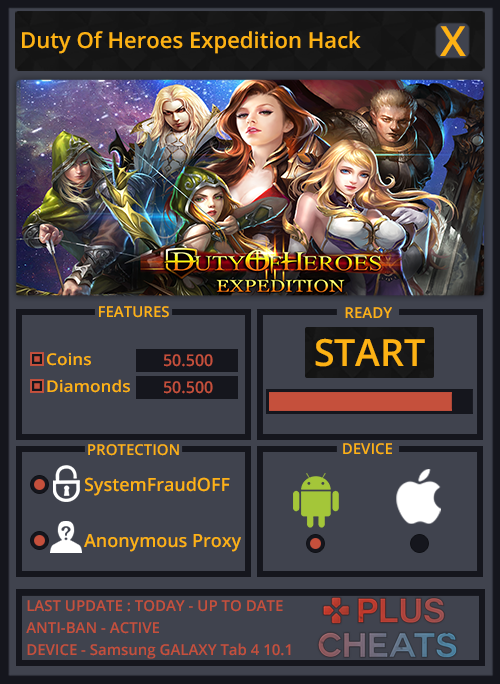 Duty Of Heroes Expedition Hack