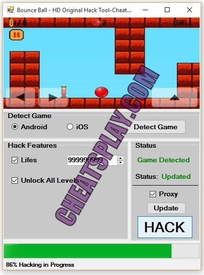 Bounce Ball - HD Original Hack Tool