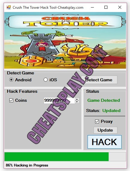 Crush The Tower Hack Tool
