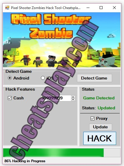 Pixel Shooter Zombies Hack Unlimited Cash Working on Android and iOS devices