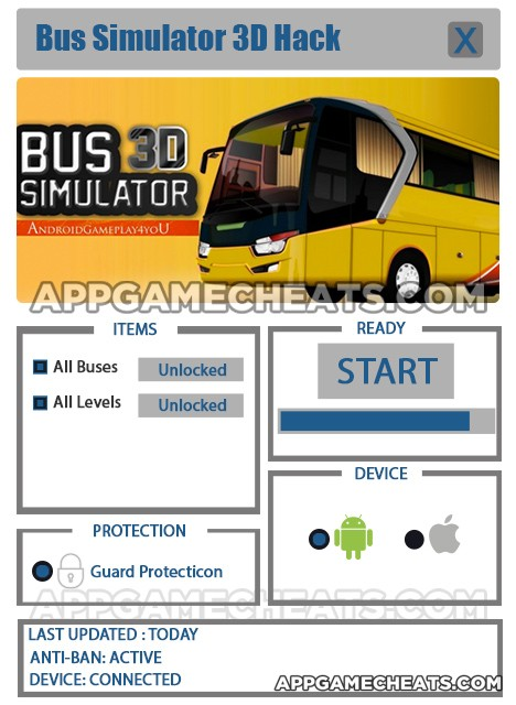 bus-simulator-3d-cheats-hack-all-buses-all-levels