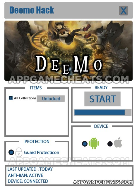 Deemo Hack for All Collections Unlock