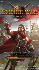 Empire War: Age of Heroes Hackfor Food, Wood, Stone, & Coins 2