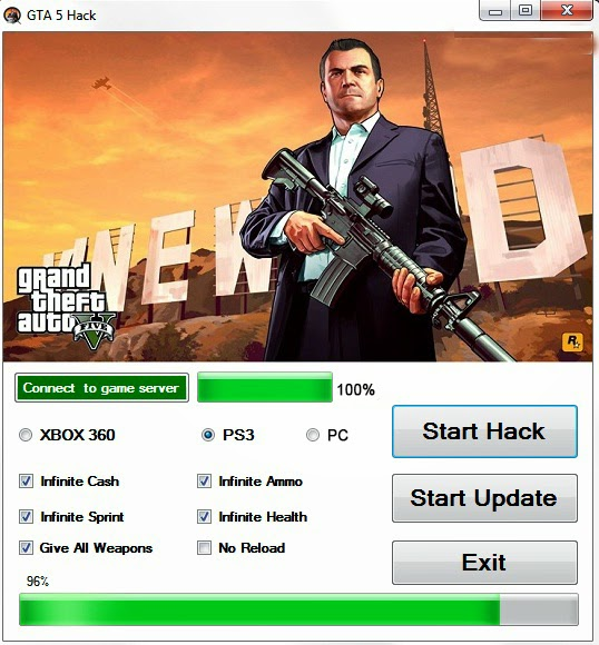 Gta 5 hack Online Unlimited Ammo for your Weapons. Earn yourself Unlimited Health Infinite Armor