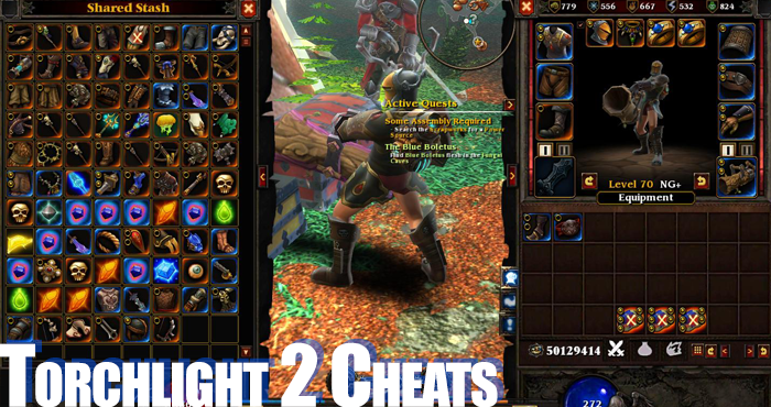 TORCHLIGHT 2 Cheats, Basically you can cheat everything in Torchlight 2 outside of LAN mode