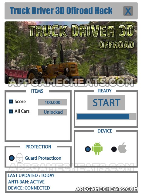 truck-driver-3d-offroad-cheats-hack-score-all-cars