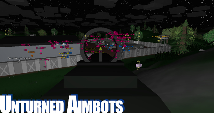 Unturned Cheat and Unturned Aimbots and ESP Hacks