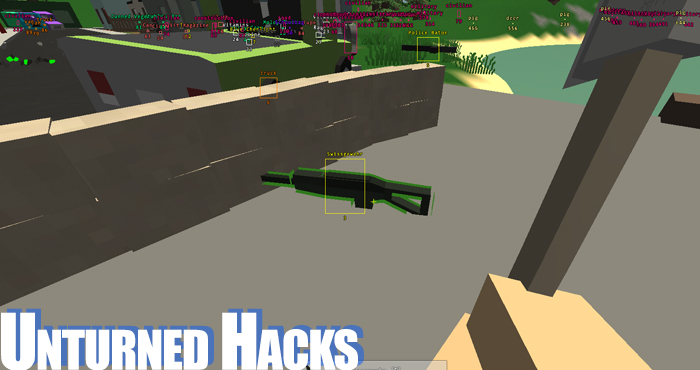 Unturned Cheat and Unturned Aimbots and ESP Hacks 3