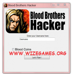 Blood Brothers Cheats Tool & Cheat Engine 2012 SUPER Hack