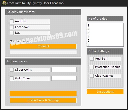 From Farm to City Dynasty Hack Tool