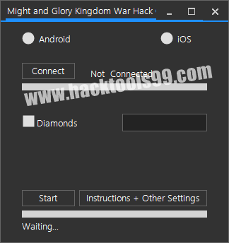 Might and Glory Kingdom War Hack Cheat Tool Unlimited Diamonds Android/iOS