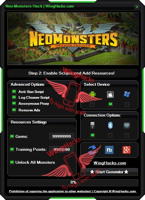Neo Monsters Hack Cheat Download Trick Codes solution which is just amazing and help alot in game