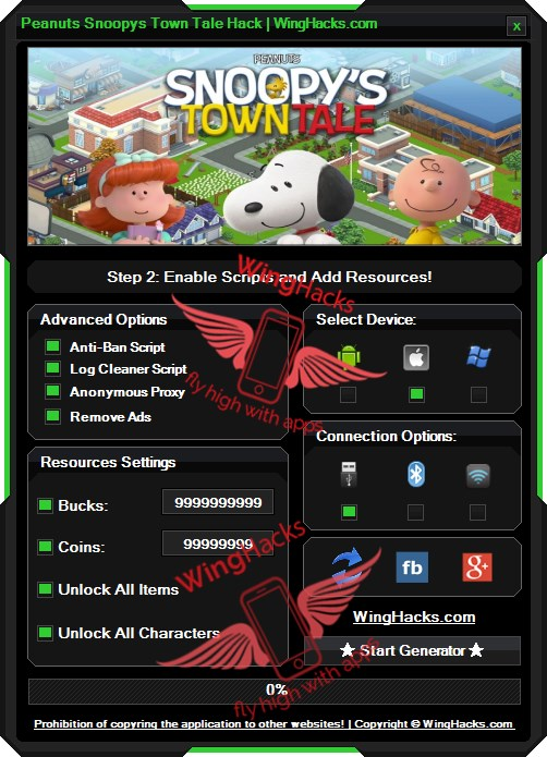 Peanuts Snoopys Town Tale Hack Cheat Trick professional program which was created by many talented programmers